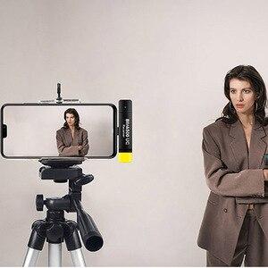Image 5 - Saramonic 点滅 500 スタジオコンデンサーマイク 2.4 Ghz デュアルチャンネルワイヤレスラベリアマイクデジタル一眼レフ、ミラー、 iPhone