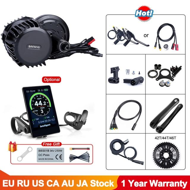 Mid Drive Motor Universal 48V 52V 1000W 120mm Bafang 8Fun BBS03 BBSHD Electric Bike Conversion Kit Powerful eBike Part