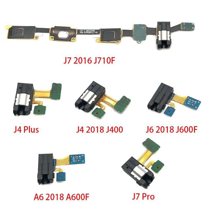 For Samsung Galaxy A3 A5 A7 J3 J5 J7 2017 A320 A520 A720 J7 Prime J4 2018 Earphone Headphone Audio Jack Flex Cable Ribbon