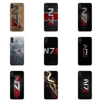Greatest Mass Effect N7 Armour Soft TPU Skin Painting For Huawei P7 P8 P9 P10 P20 P30 Lite Mini Plus Pro 2017 2018 2019 image