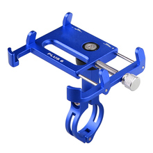 Bicycle Motorcycle Cell Phone Mount Adjustable Aluminum Alloy Mobile GPS Holder 7 Colours Car Styling