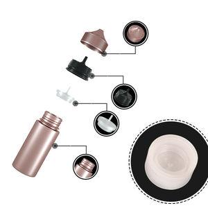 Image 3 - Yeni 5 adet 30ml/60ml/100ml/120ml PET plastik boş damlalıklı E sıvı göz temiz su şişeleri uzun İpucu Cap suyu yağı kalem tipi elektronik sigara şişesi