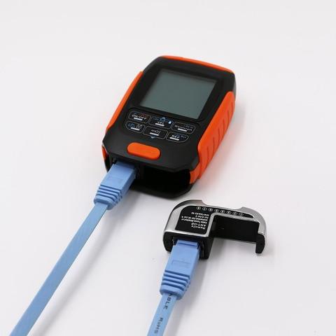 4in1 Li-lion Battery Optical Power Meter Visual Fault Locator Network Cable Test optical fiber tester 5km 15km VFL Free shipping Multan