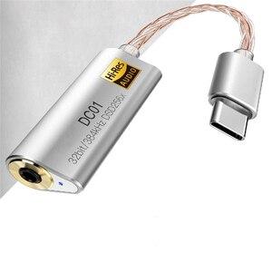 Image 3 - Przenośny wzmacniacz słuchawkowy Adapter do iBasso DC01 DC02 USB DAC dla android pc tabletki 2.5mm 3.5mm HiFi zatrudnia typ adaptera C