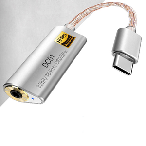 Image 3 - ポータブルヘッドフォンアンプ用 iBasso DC01 DC02 USB dac の Android PC 錠 2.5 ミリメートル 3.5 ミリメートルハイファイ雇用アダプタタイプ C