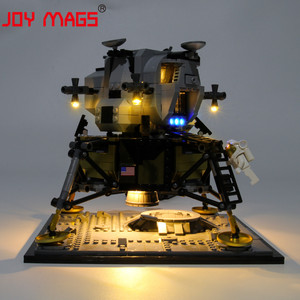 Image 5 - JOY MAGS Only Led Light Kit For Creator Apollo 11 Lunar Lander Lighting Set Compatible With 10266 (NOT Include Model)
