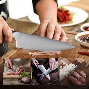 Image 4 - 24cm שף מטבח סכין יפני HAP40 פלדה גבוהה פחמן סופר חד בשר פילה דג חיתוך בישול המטבח סכיני 28