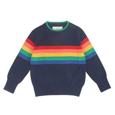 1 -6Yrs Baby Girls Sweater Autumn Winter Baby Boy Sweater Boys Girls Stripe Children Clothes Children Clothing 8