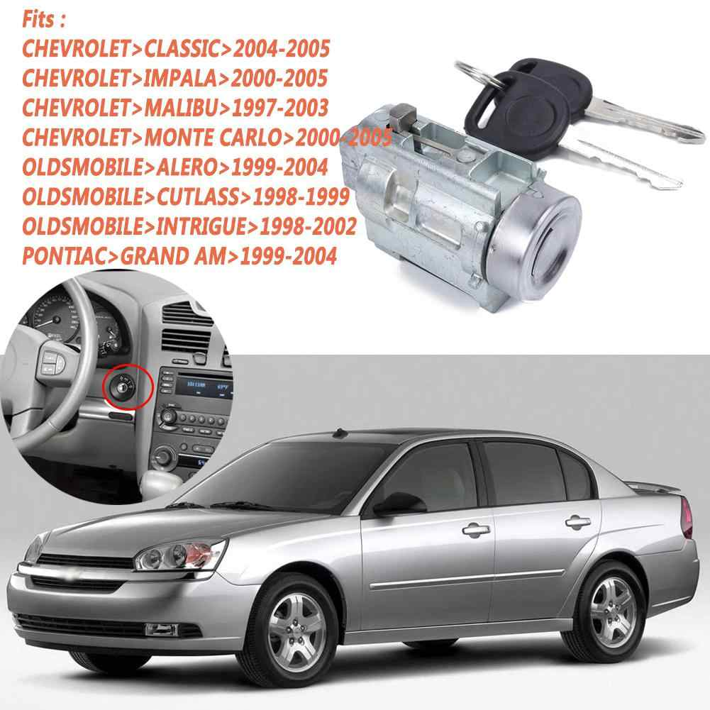Metal Replacement Ignition Lock Cylinder And Keys For Buick Chevrolet Olds Pontiac Key Oe 12458191 Locks Hardware Aliexpress
