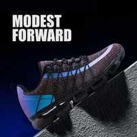 Модная обувь высокого качества; Мужская обувь; удобная дышащая повседневная легкая обувь из некожи; большие size38-46