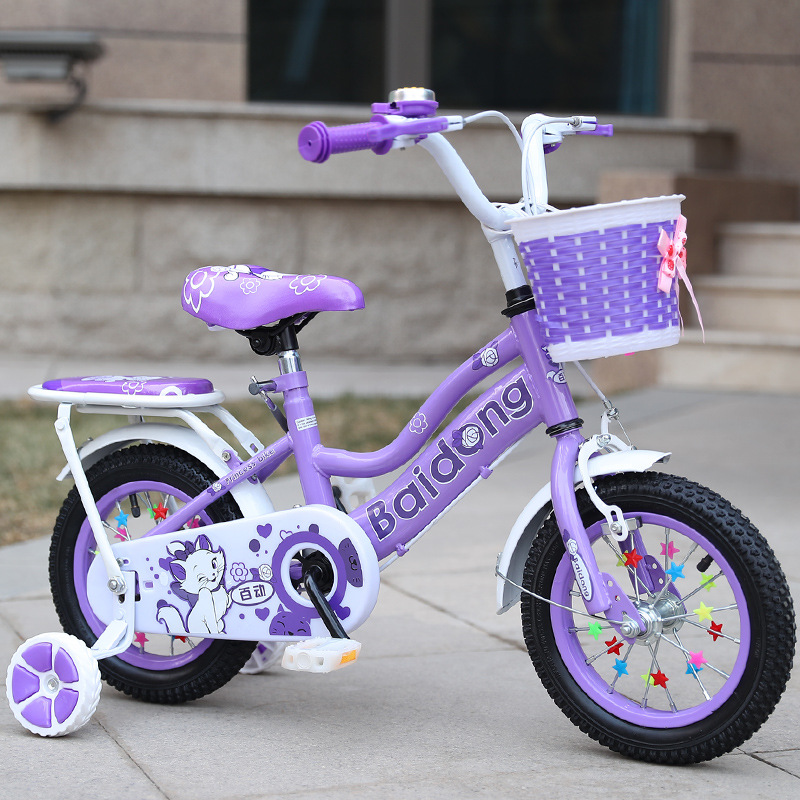 12 Inch Male And Female Stroller Baby Bicycle Sports Car Free 8 Gifts
