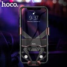 HOCO yeni evrensel araç telefonu tutucu GPS standı yerçekimi bağlantı hava firar dağı tutucu standı araba iPhone 11 pro Xiaomi mi 10