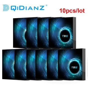 10pcs T95 TV Box Android 10.0 Youtube HD 6K Quad Core Android TV Box Smart TV Box 1