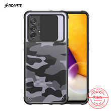 Rzants funda rígida para Samsung Galaxy A52, A72, Galaxy A32, 4G, A51, A71, lente de camuflaje, protector de cámara, cubierta de cristal fina