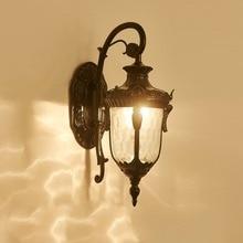 European Style Outdoor Balcony Garden Waterproof Wall Lamp Garden Villa Classic Light