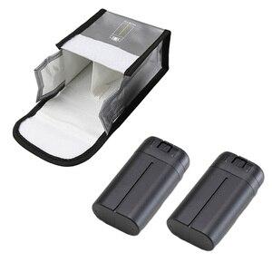 Image 3 - Взрывозащищенная сумка Mavic Mini для аккумулятора, Защитная сумка для хранения для аккумуляторов DJI Mavic Mini