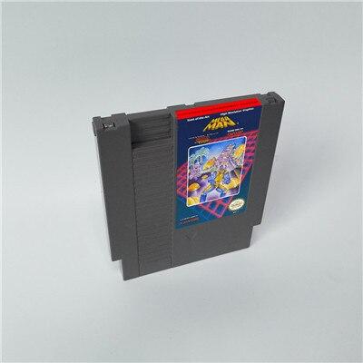 ميجا مان 1 2 3 4 5 6 هناك 6 خيارات ، كل خيار هو لعبة واحدة فقط Megaman   72 pins 8bit لعبة خرطوشة