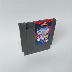 Image 1 - Mega Man 1 2 3 4 5 6 vardır 6 seçenekleri, her seçeneği sadece bir oyun Megaman   72 pins 8bit oyun kartuşu