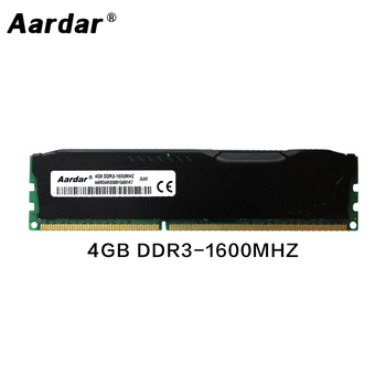 RAM DDR3 4GB 8GB 1600Mhz Random Access Memory With Heat Sink Computer Memory ram ddr 3 For Desktop