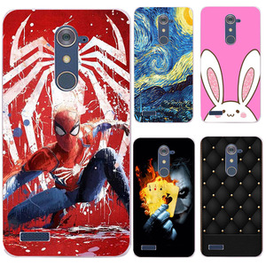 New Cute case For ZTE Z max Pro Z981 ZTE Blade X Max Z983 Grand X Max 2 Kirk Soft TPU Cover Phone Back Shell For ZTE Z981(China)