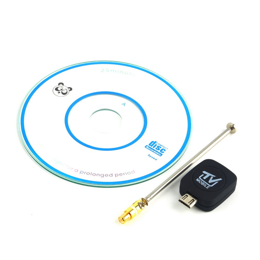 1 pc Mini Micro USB DVB T Input Digital Mobile TV Tuner Receiver for Android 4
