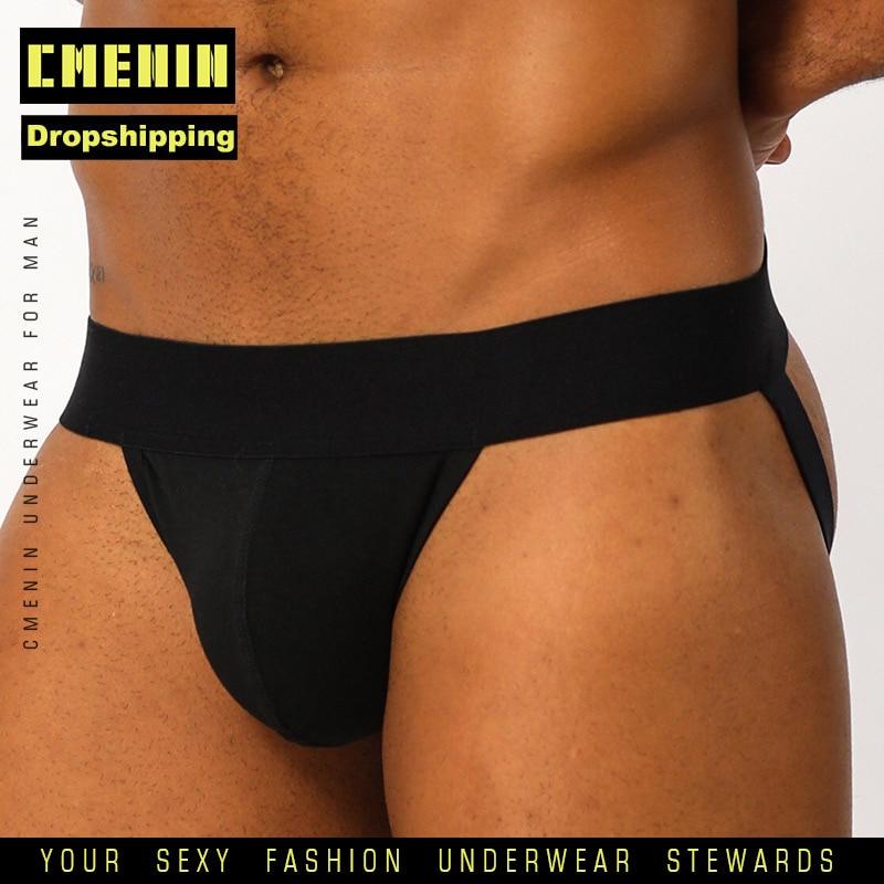 U Convex Cotton Sexy Gay Underwear Men Thong Men Jockstrap For Dropshipping