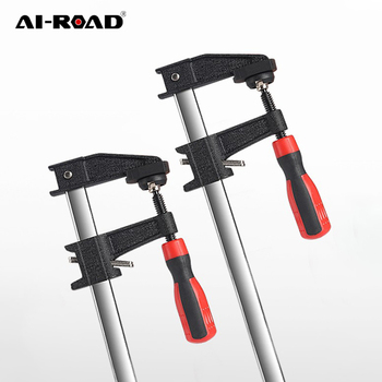 AI-ROAD 1pc 6/12/18/24 Inch Quick Ratchet Release Speed Squeeze Multi Purpose Woodworking Clamp Clip Kit DIY Hand Tool 1