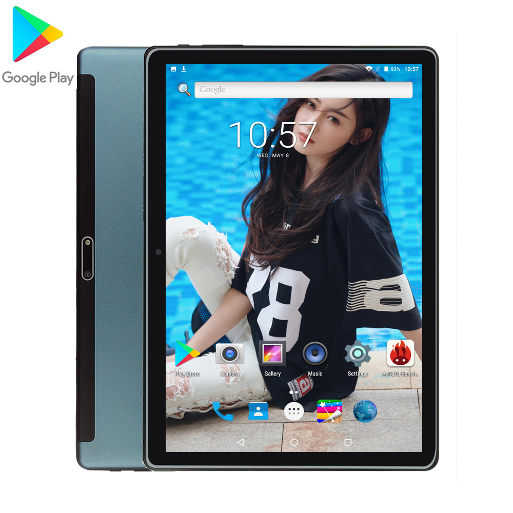 Tablet 10 Inch Tablet 1.5GB/32GB Android 9.0 Phablet Tablet Pc 4/Quad Core 1280*800 IPS Tab GPS Bluetooth 2 SIM 3G Tablet 10.1