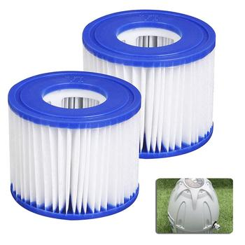 цена на 1PCS Inflatable swimming pool pump filter hot tub spa filter filter element pump replacement inflatable hot spring swimming