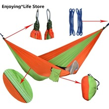 New Outdoor Camping Hammock Idyllic Swing Double Hammock Portable Rest Leisure Lounge Chair
