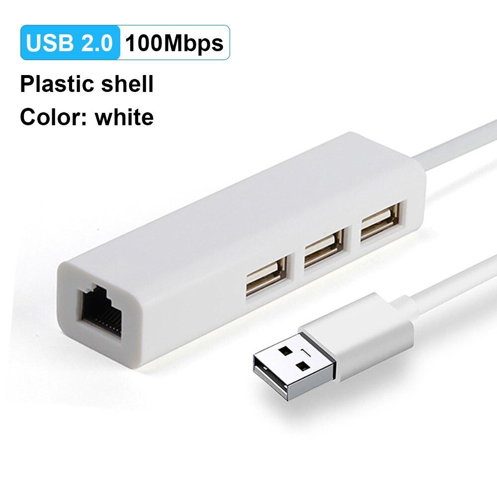 USB2.0 100M White
