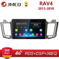 2G+32G Android 8.1 4G Car Radio for Toyota RAV4 4 XA40 5 XA50 2012 2018 Multimedia Video Player Navigation GPS 2din 2 Din Dvd