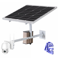 30W 20A Solar Panel for SIM Card 3G 4G 5G IP Camera 1080P 2MP HD Outdoor PTZ Camera 5X  Waterproof Security Wireless WIFI Camera