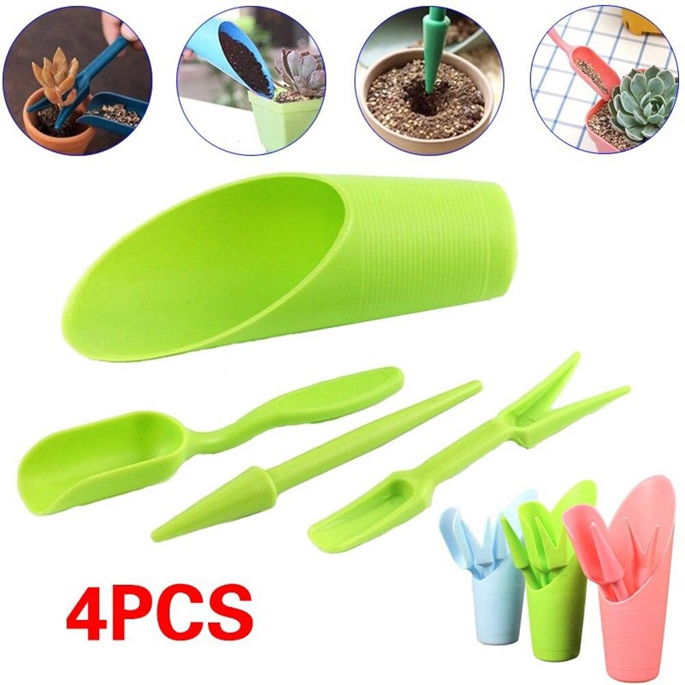 3pcs/4pcs Mini Garden Tools Succulent Planting Kit Transplant Tools Succulent Starter Kit Mini Transplanting Succulent Tool Kit