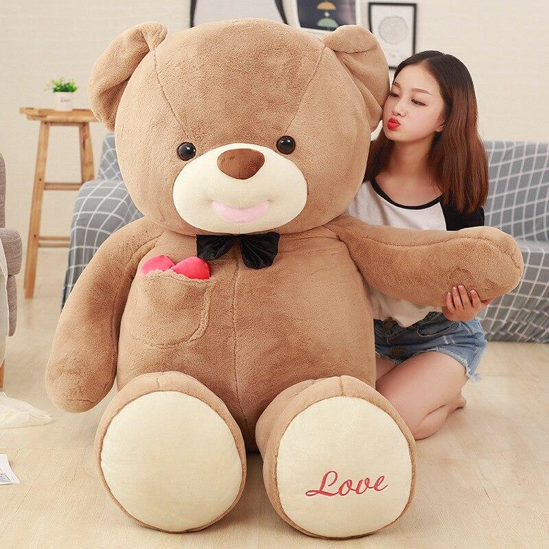 Плюшевый игрушечный медведь, кукла, милое сердце, дю рот, медведь, кукла, плюшевый медведь, объятие, медведь, любовь, большой размер, подарок д... - 3