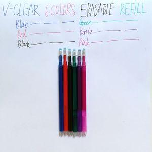 Image 4 - Penna cancellabile Cancelleria Ricarica Attrito Gel Penna Forniture Per Ufficio Disegno Frixion Penna Refill Penna Studente 6 Colori 0.7 millimetri Penna Frixion