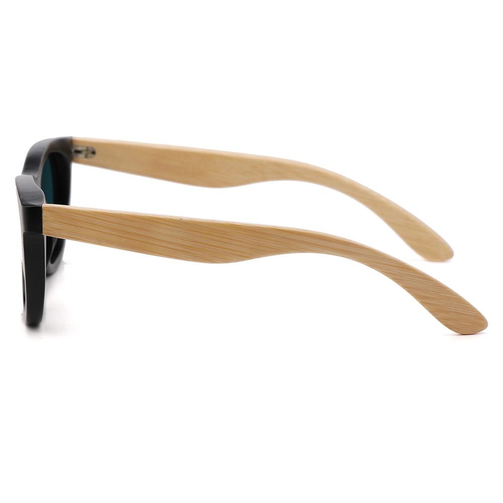 BerWer çocuk Ahşap Güneş Gözlüğü Polarize Bambu marka güneş - Elbise aksesuarları - Fotoğraf 4