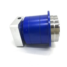 16mm Input Round Flange Output Ratio 25:1 Helical Gear 110Nm Planetary Gearbox Reducer for 750W 90mm Servo Motor Laser Welding