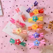 2Pcs/Set Fruit Cartton Baby Hair Clips Fresh Silicone Hairpins For Girls Cute Korea Style Soft Handmade Accessories New