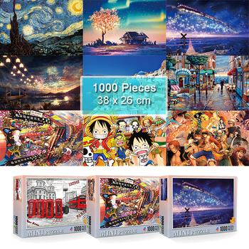 Puzzle Jigsaw 1000 sztuk Puzzle dla dorosłych dzieci gry rodzinne zabawki edukacyjne Mini Puzzle zabawki dla dzieci prezent gry domowej tanie i dobre opinie JIMITU CN (pochodzenie) Unisex 5-7 lat 8-11 lat 12-15 lat Dorośli 6 lat 8 lat 3 lat Papier COMMON Krajobraz JM660