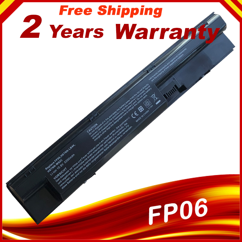 Laptop Battery 708458-001 707616-851 For HP FP06 FP09 707617-421 708457-001 H6L26AA ProBook 440 445 450 455 470 707616-141