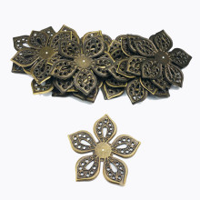 40mm 20pcs Wholesale Filigree crafts Hollow Embellishments F