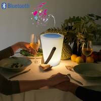 LED portable lantern portable bluetooth speaker light outdoor waterproof bluetooth audio light camping decoration atmosphere lig