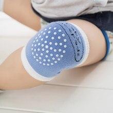 Almofadas de joelho do bebê cotovelo da criança almofadas de perna meias rastejando segurança crawl criança infantil protetor almofada malha warme almofada meias 0-3year