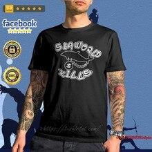Camiseta homem quente tubarão seaworld mata camisa da mulher