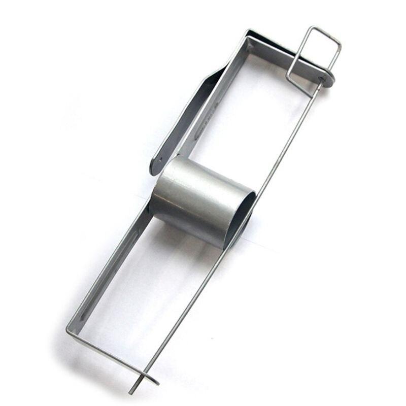 Durable Large Capacity Tape Holder Stainless Practical Drywall Tape Reel E65B