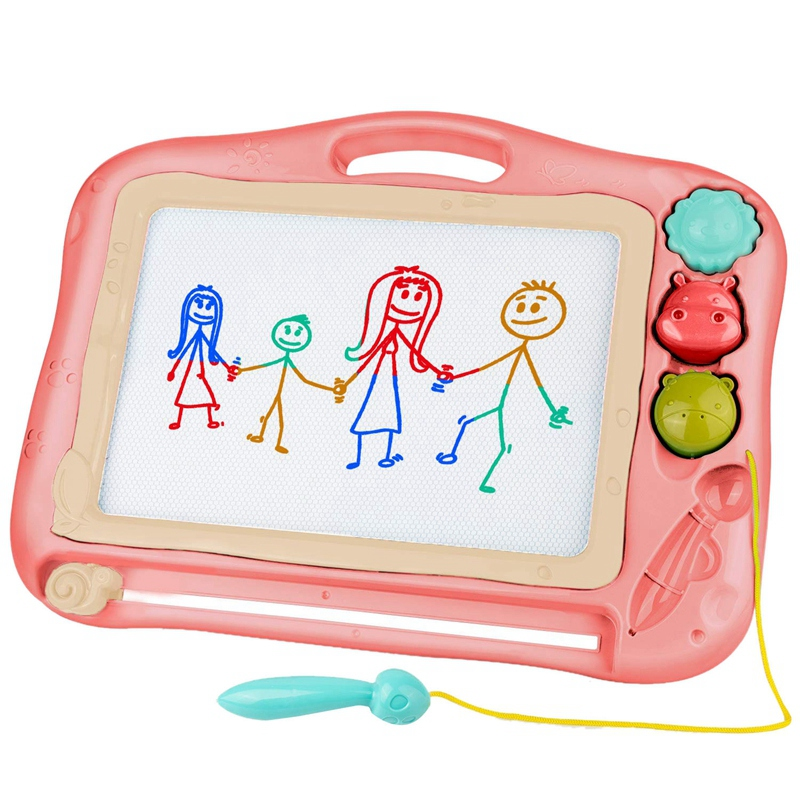 Children's Magnetic Drawing Board, Color Rewritable Magnet Writing Sketch Pad, Children's Graffiti Board, Writing Board, With Ma