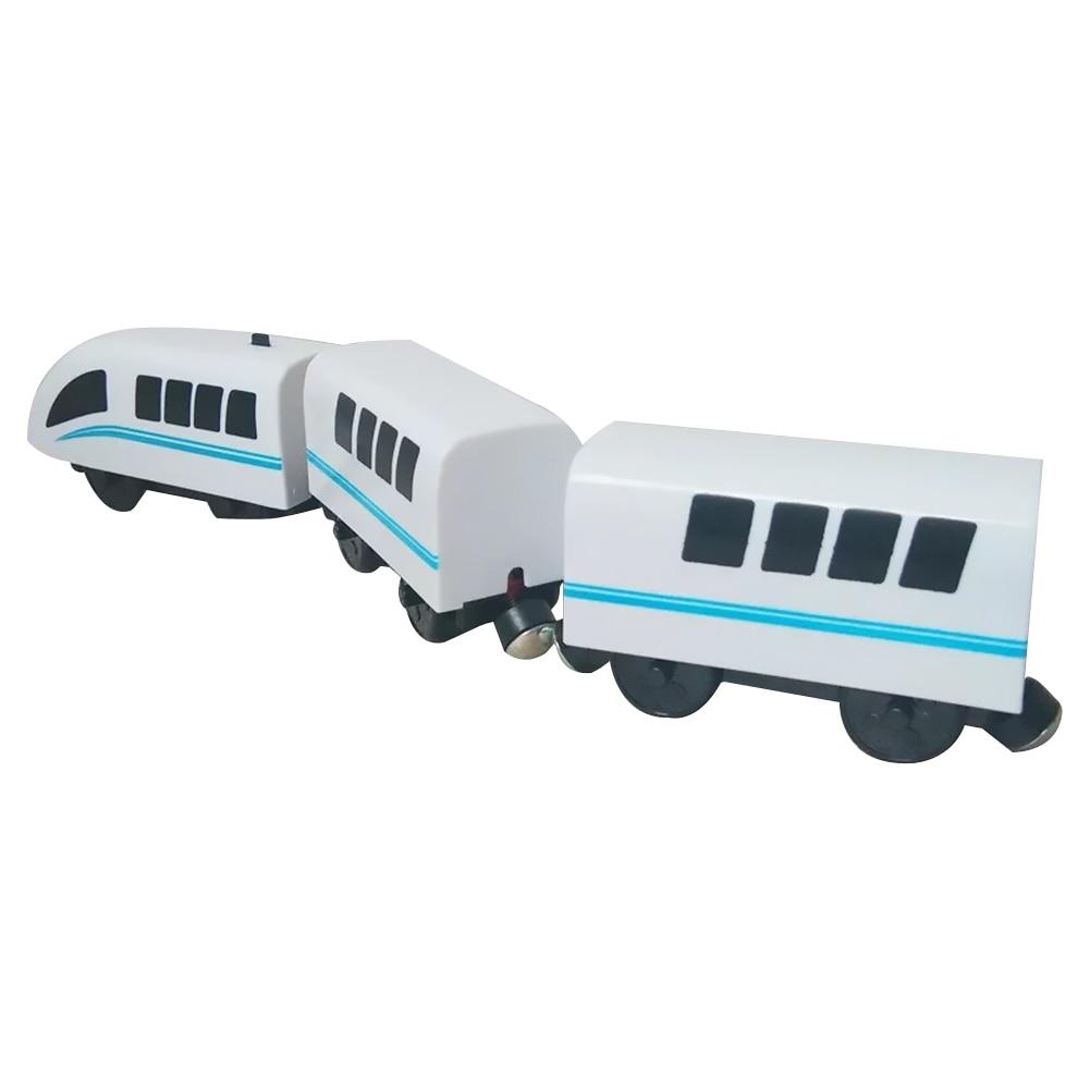 Kids Train Toy Hape Steam-Era Freight Train Classic Children's Locomotive Toy Compatible With BRIO Wooden Track