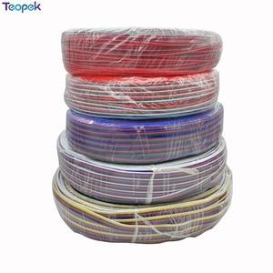2pin 3pin 4pin 5pin 6pin Verlängerung Elektrische Draht Kabel 22AWG Led Stecker Für 5050 3528 WS2812 RGB RGBW RGB CCT LED Streifen