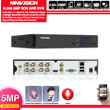 Face Human Detection H.265 8CH AHD 5MP surveillance DVR NVR 8 channel 5MP up to 16CH 1080P Security 3G WIFI DVR video recorder